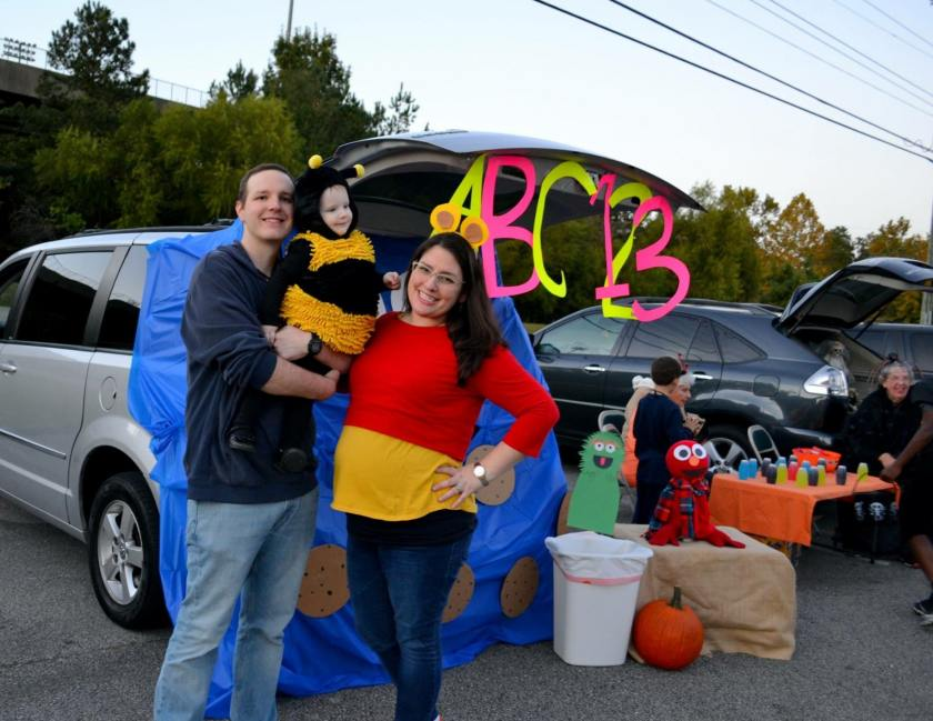 Birmingham, The Church at Grantsmill, Trunk or Treat, trick or treat, Halloween, October, costumes
