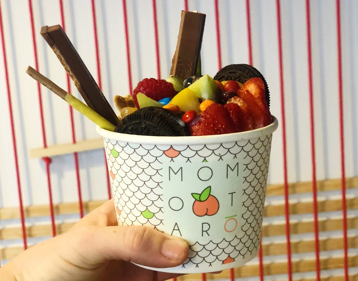 Momotarõ opens in Five Points, and has us dreaming of hand-rolled ice cream