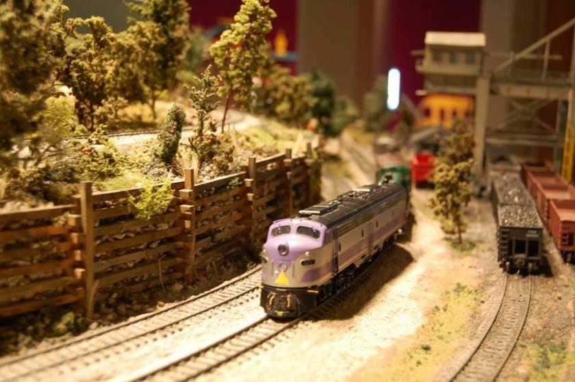 Birmingham, McWane Science Center, the Magic of Trains, train exhibits Birmingham, trains, railroads, The Wrecking Crew Model Railroad Club