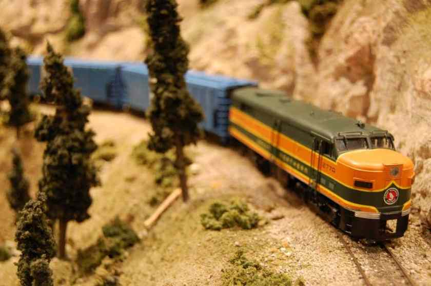Birmingham, McWane Science Center, the Magic of Trains, train exhibits Birmingham, trains, railroads, The Wrecking Crew Model Railroad Club