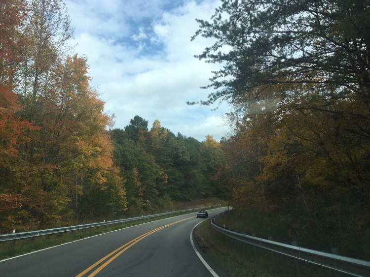 Birmingham, Cheaha scenic trail, scenic drives, fall drives, Driver's Way