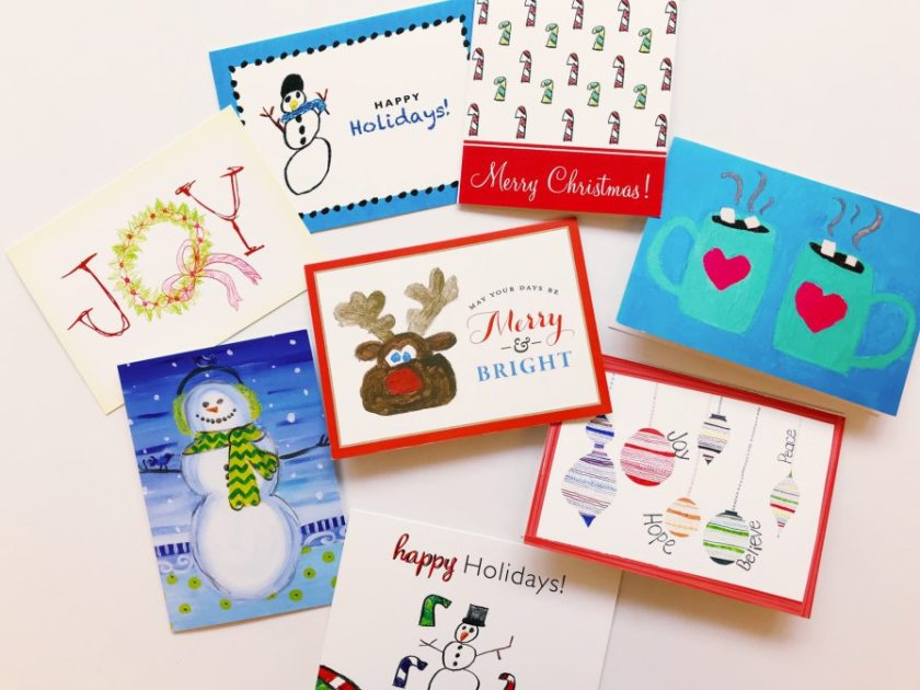 You can buy these Birmingham locally made holiday cards through CrinkledNose.com. 25% of all sales benefit Children's Hospital.