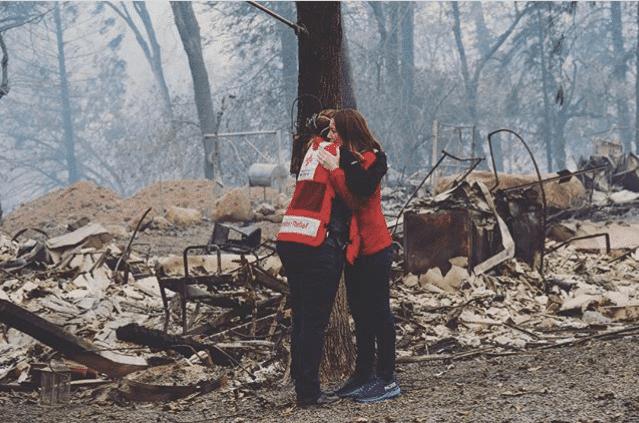 Birmingham, American Red Cross, California Wildfires, California fires, California Camp Fire, California Woolsey Fire, California Hill Fire