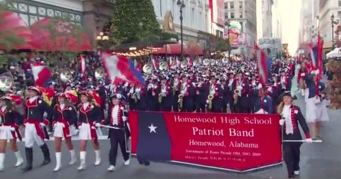 Homewood's Patriot Band to make 9th appearance in the Macy's Thanksgiving Day Parade