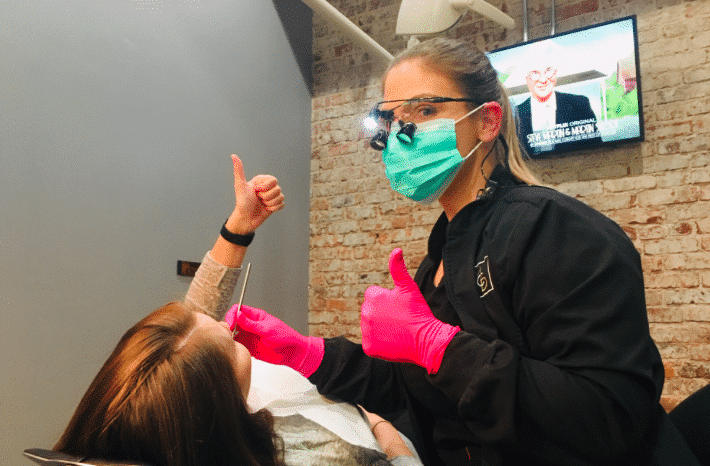 Donna Flores describes why she loves her job at Magic City Dentistry