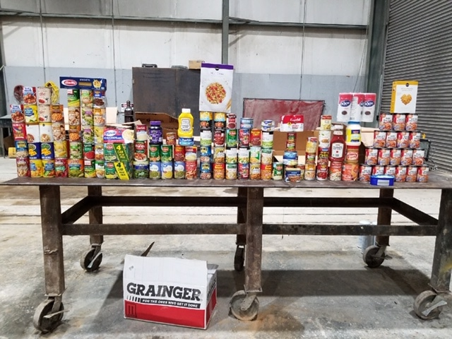 """Vulcan Materials Company """"stockpiles"""" 4 tons of food for community organizations across Alabama and beyond"""