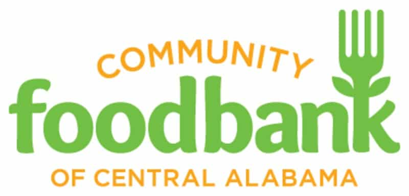 Community Food Bank of Central Alabama logo for a piece on where to turn in Birmingham when holiday depression sets in, including a Blue Christmas service.