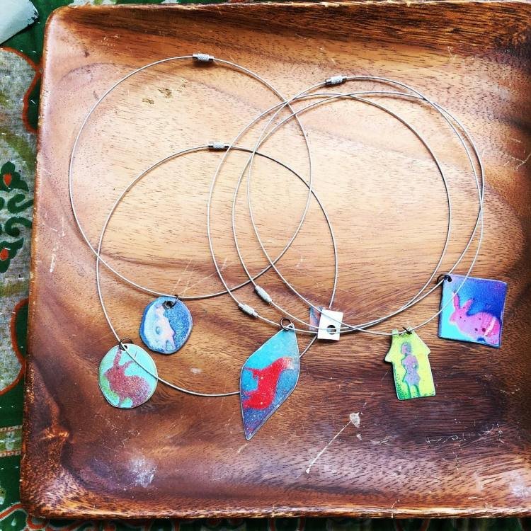 Julie Carpenter is a local metalworker whose jewelry will be at Alabama Waldorf's Holiday Faire, a home for Birmingham makers.