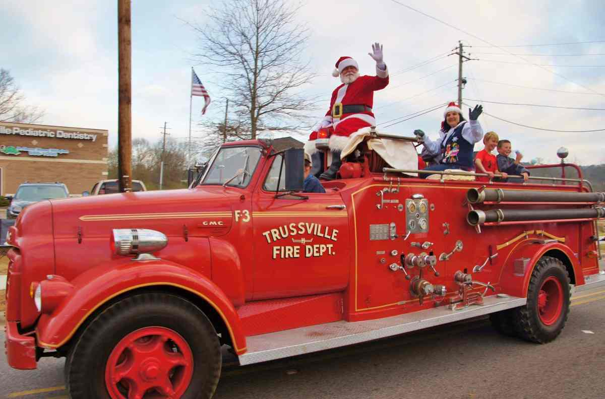 Birmingham holiday parades to get you in the holly jolly spirit