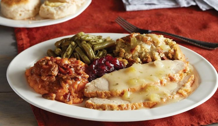 Birmingham, Cracker Barrel , turkey n' dressing, Thanksgiving, Thanksgiving dinner