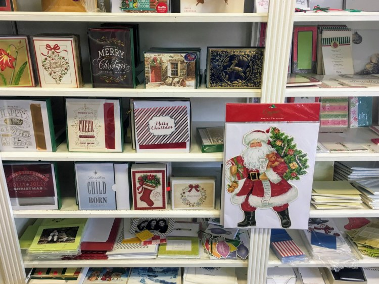 Birmingham locally made holiday cards are available at Mountain Brook's Village Press.