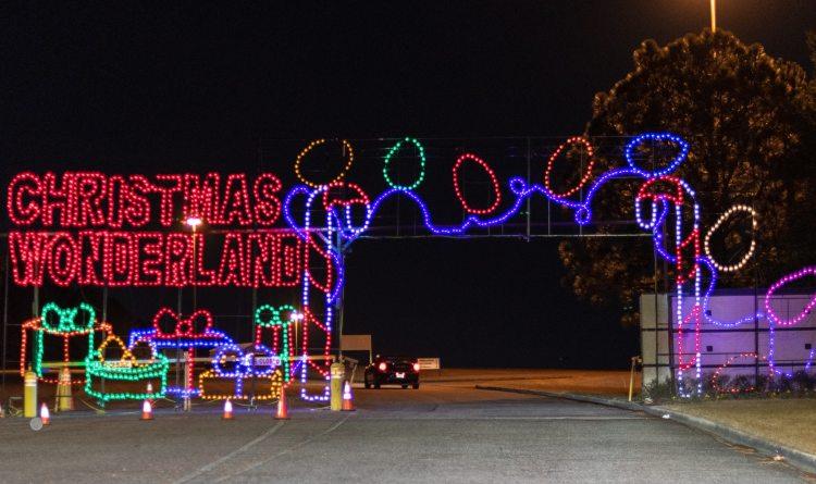 Birmingham, Shadrack's Christmas Wonderland 2018, Christmas lights, light displays, Christmas decorations, Driver's Way, Birmingham Greyhound Race Course