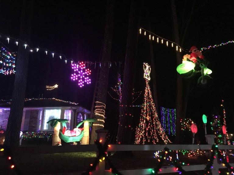 Birmingham, Homewood, Edgewood, Driver's Way, Christmas lights, light displays, Christmas decorations