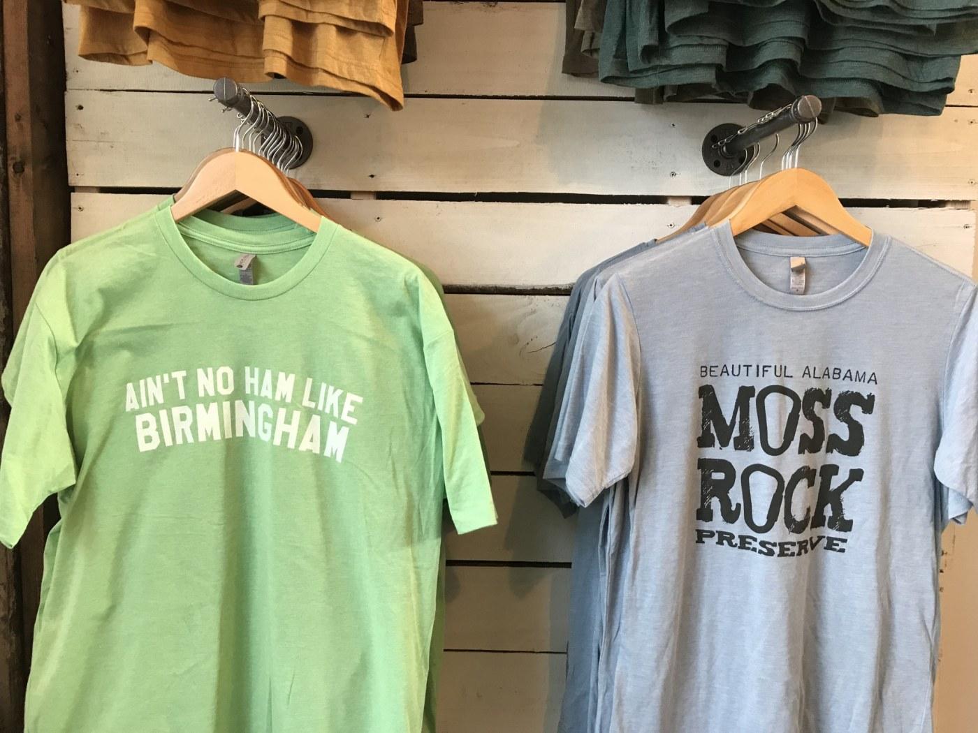 Birmingham, Alabama,Original B'ham Apparel Co., The Battery, t-shirts, tees, Moss Rock