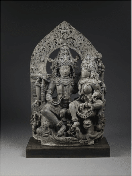 Uma-Mahesvara (Siva and Parvati)