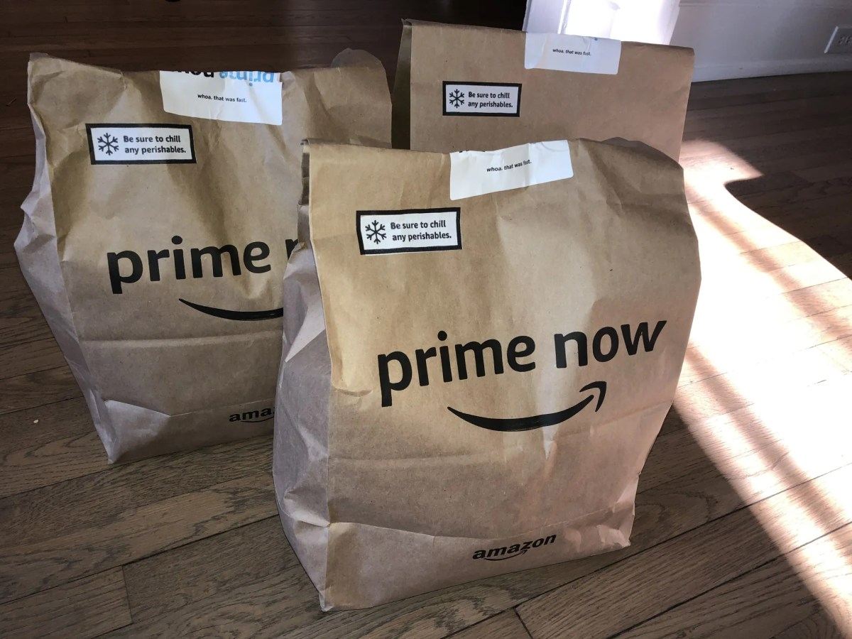 We ordered from Whole Foods using prime now and here's what happened