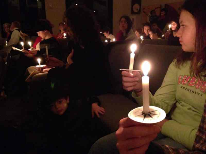 Birmingham, Unitarian Universalist Church of Birmingham, Christmas Eve services