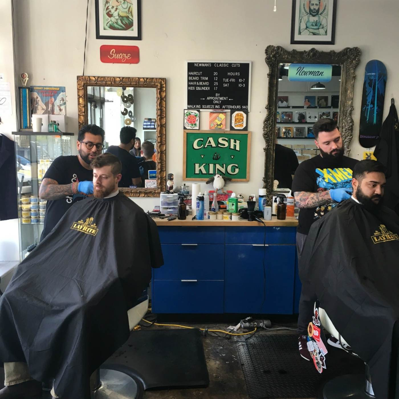 Newman's Classic Cuts is one of 5 Birmingham barbershops