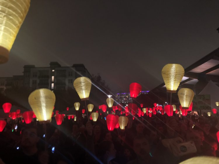 Birmingham, Alabama, Leukemia and Lymphoma Society, Light the Night Walk, charity