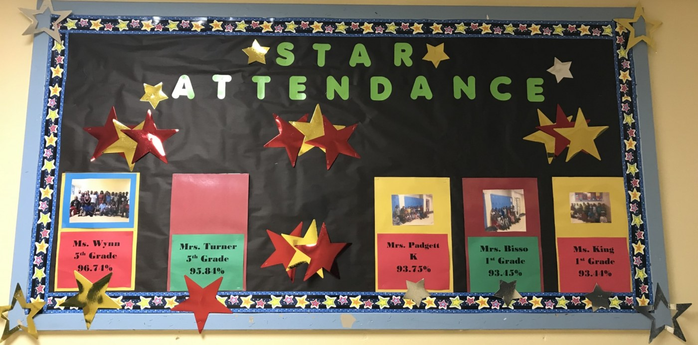 Birmingham, Alabama, Barrett Elementary, bulletin board