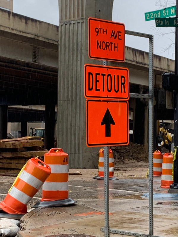 I20-59 Detour Sign
