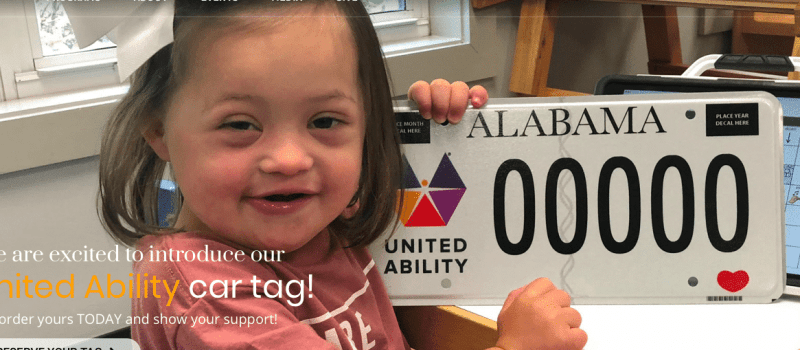 United Ability Car Tag