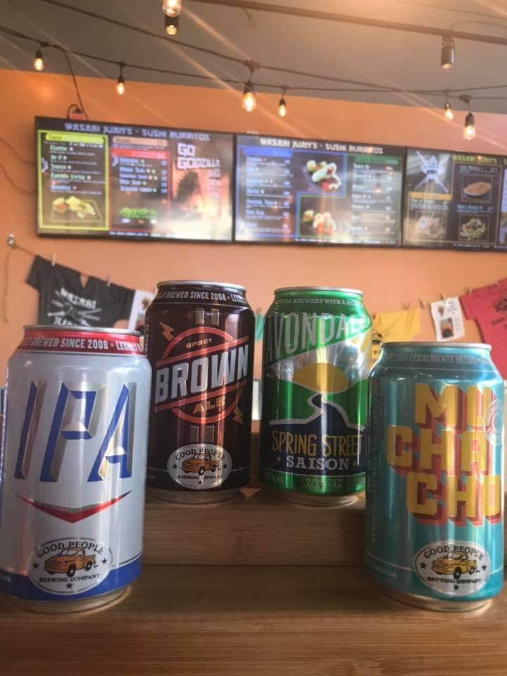 Birmingham, Alabama, Hwy 280, Highway 280, Wasabi Juan's location, beer