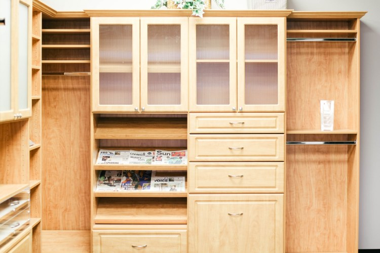 Closets by Design in Birmingham designs, custom builds, and installs a range of organizational spaces.