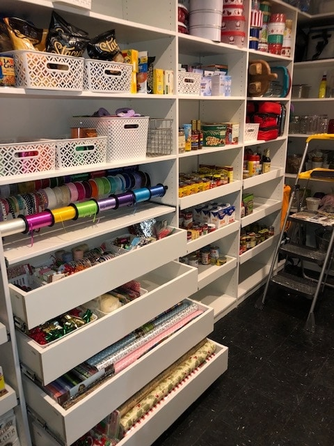 Pantry and closet all in one by Closets by Design in Birmingham.