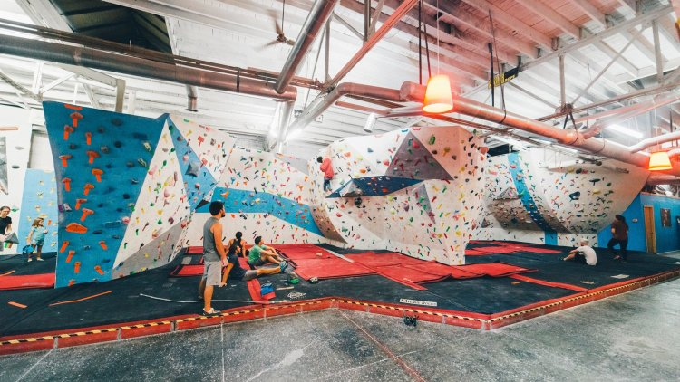 Women climbers in Birmingham like to train at First Avenue Rocks and Birmingham Boulders.