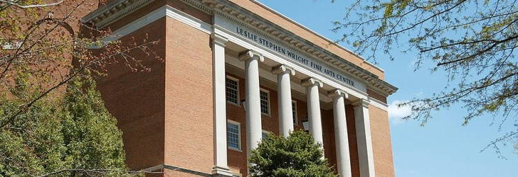 The Samford University Wright Center is a 2600-seat performance venue