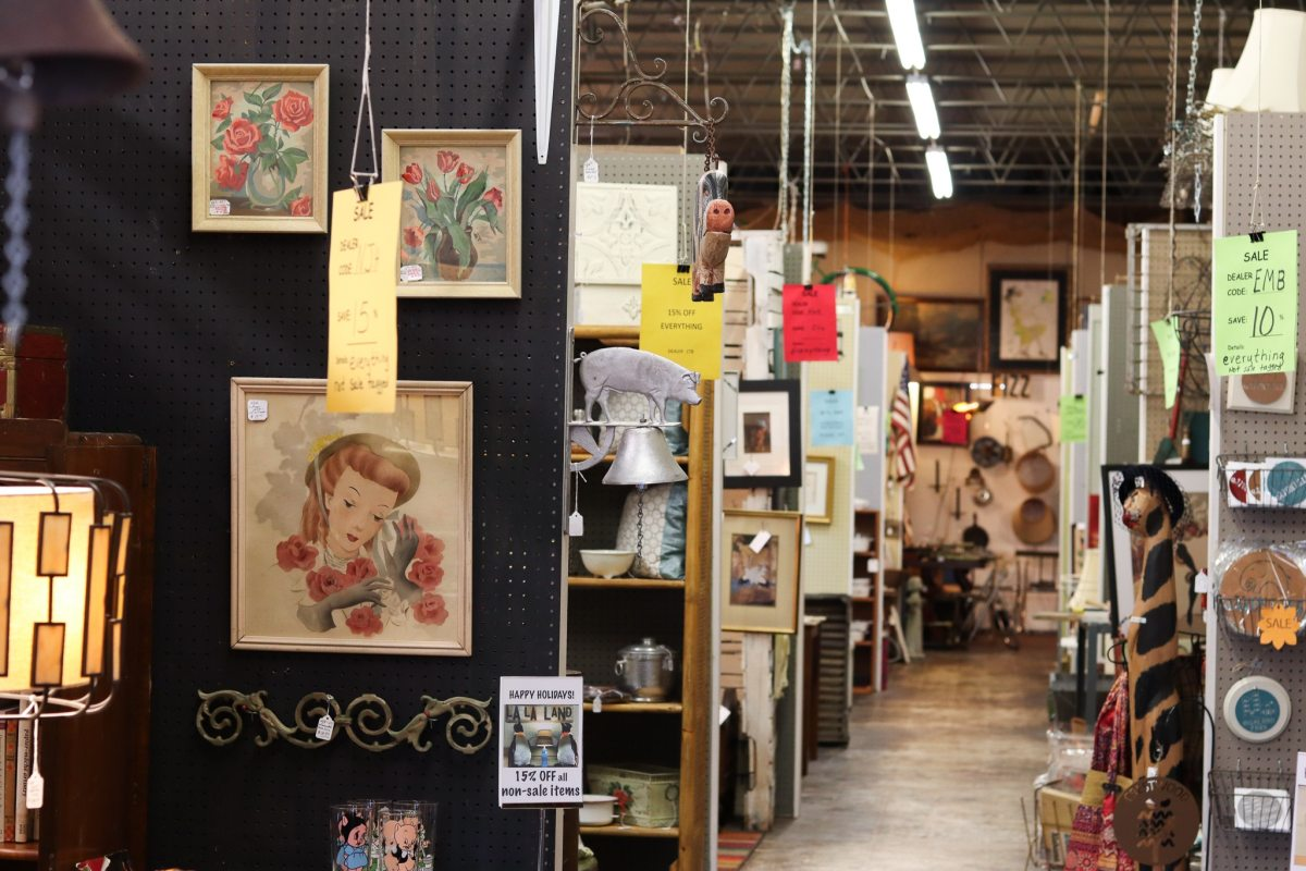 Your guide to shopping 10 of Birmingham's best antique stores like Urban Suburban and Hanna Antiques