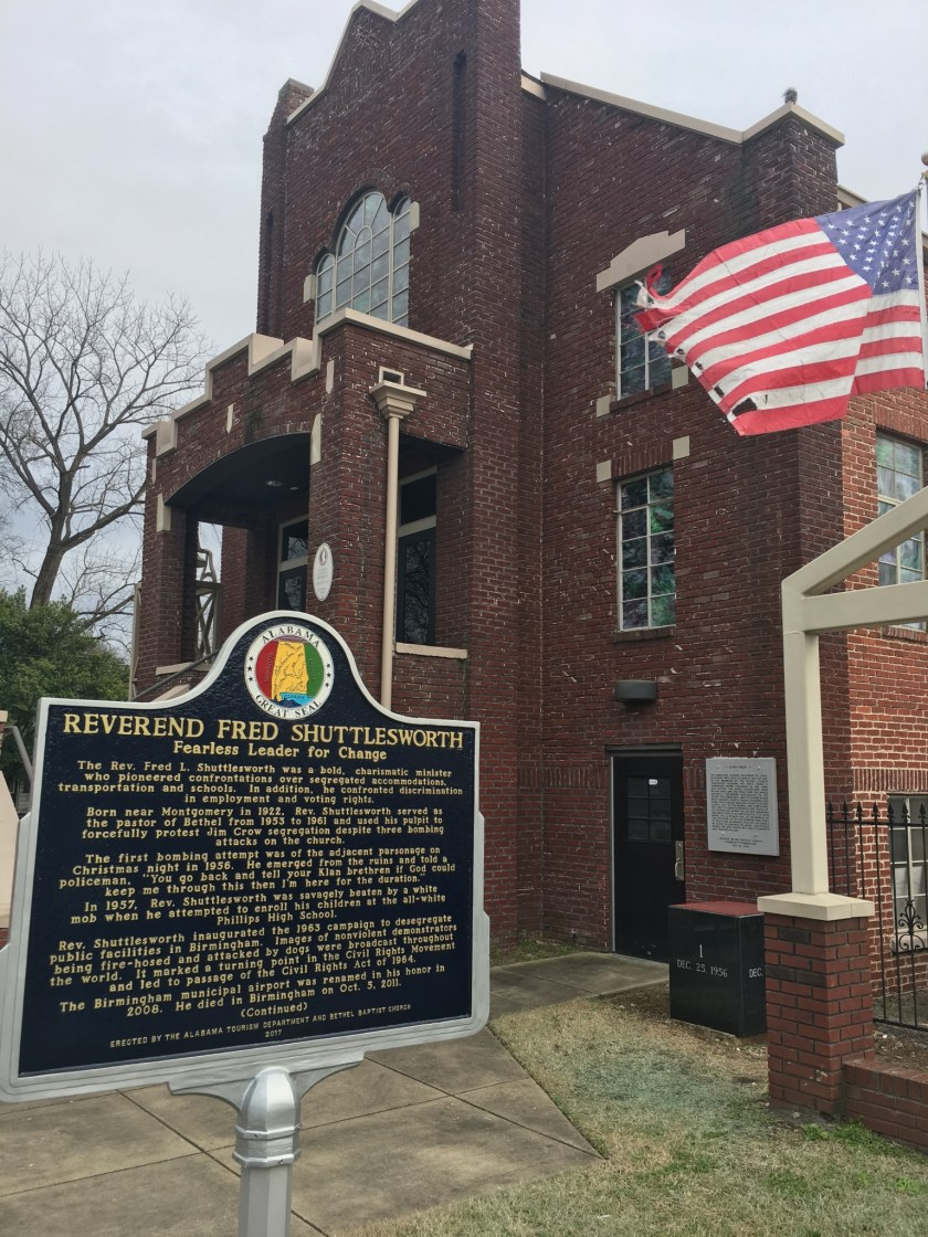 The Historic Bethel Baptist Church is a must-see in North Birmingham.