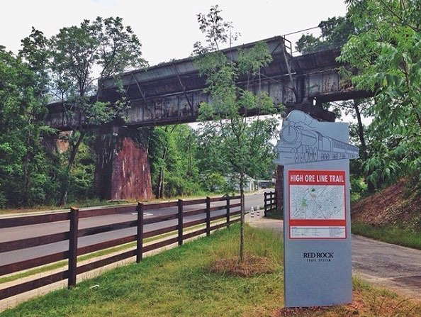 Birmingham, Alabama, Red Rock Trail System, Freshwater Land Trust, Rotary Trail, High Ore Line Trail