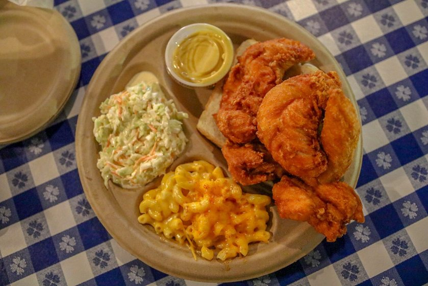 Birmingham, Alabama, Gus's Fried Chicken, The Battery, macaroni and cheese