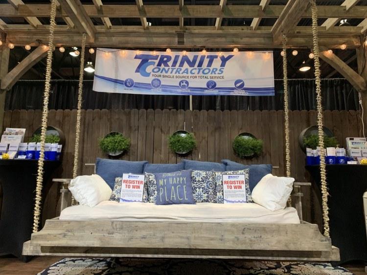 Trinity Construction booth
