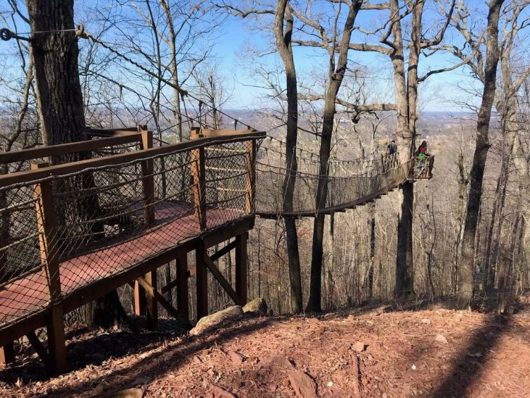 Birmingham, Alabama, Red Rock Trail System, Red Mountain Park