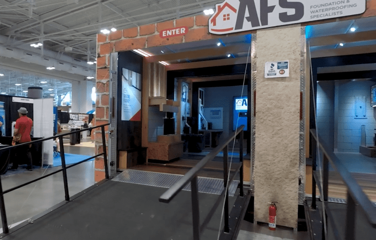 AFS exhibit at the Birmingham Home Show