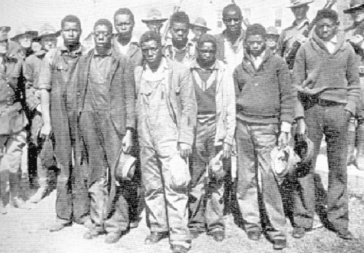 The Scottsboro Boys case is one of eight cases up for discussion at the Alabama Justice panel discussion. (Photo courtesy U.S. Department of Archives)