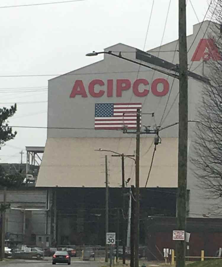 Acipco is one of the last remaining businesses in North Birmingham