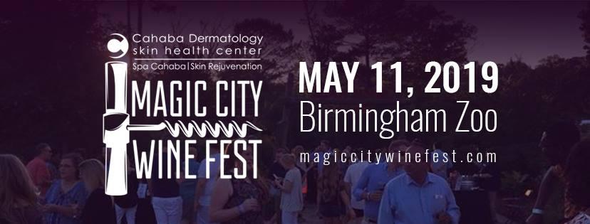 3rd Annual Cahaba Dermatology & Spa Magic City Wine Fest