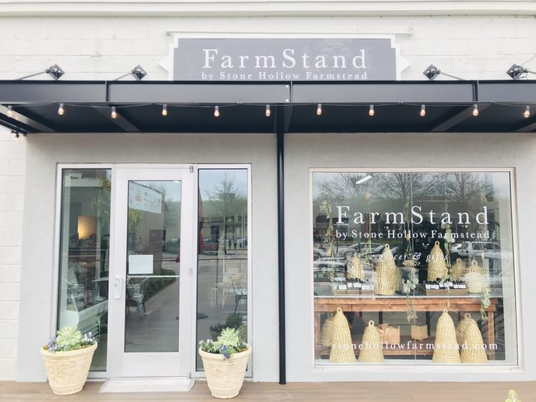 Photo of the storefront of Stone Hollow Farmstead at Pepper Place in Birmingham, Alabama