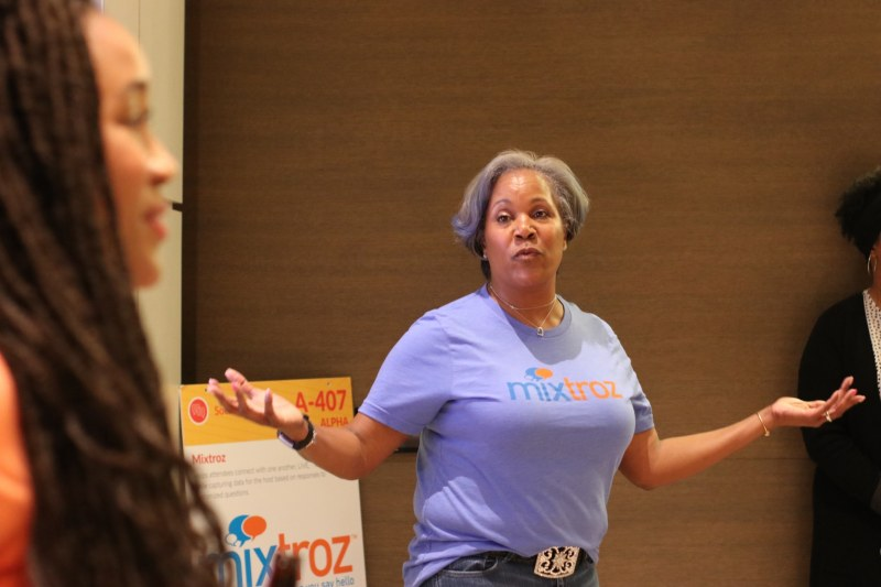 Mixtroz's founders are dynamic and engaging speakers.
