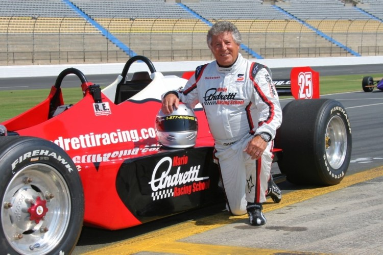 IndyCar legend Mario Andretti will serve as the 2019 Honda Grand Prix of Alabama presented by AmFirst's Grand Marshal. (Photo via Mario Andretti website)