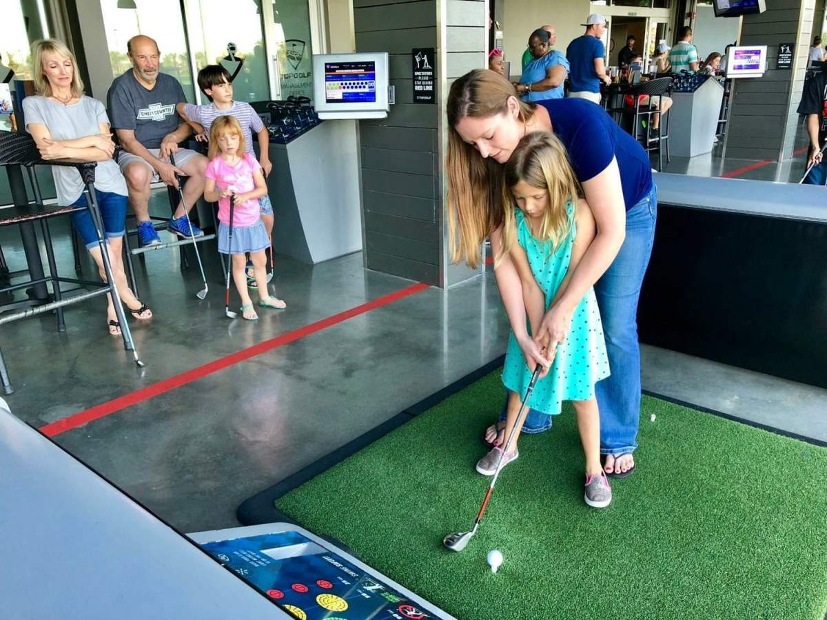 Birmingham, Topgolf Birmingham, kids, Spring Academy, golf, summer