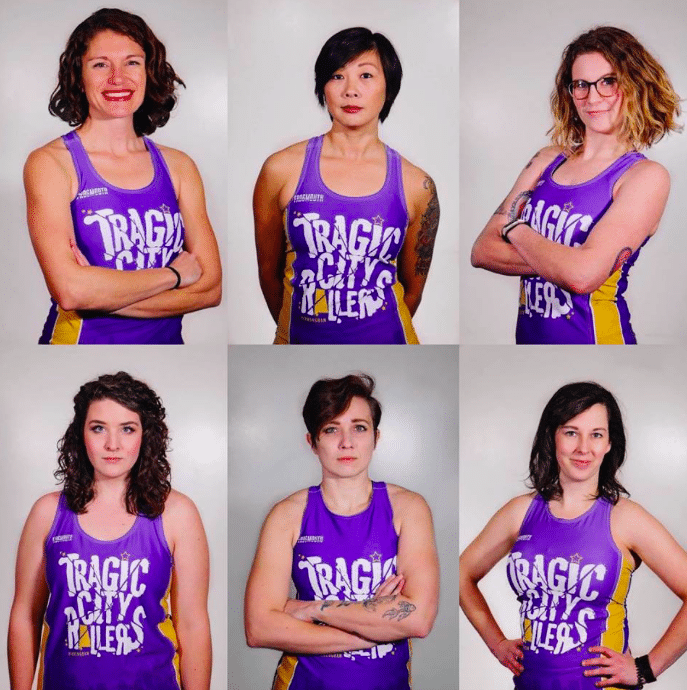 Tragic City Rollers players