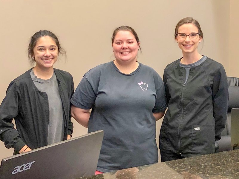 Some of the friendly staff at Vestavia Family Dentistry & Facial Aesthetics