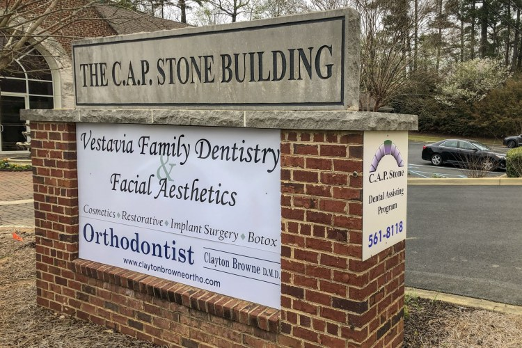 Vestavia Family Dentistry & Facial Aesthetics Sign