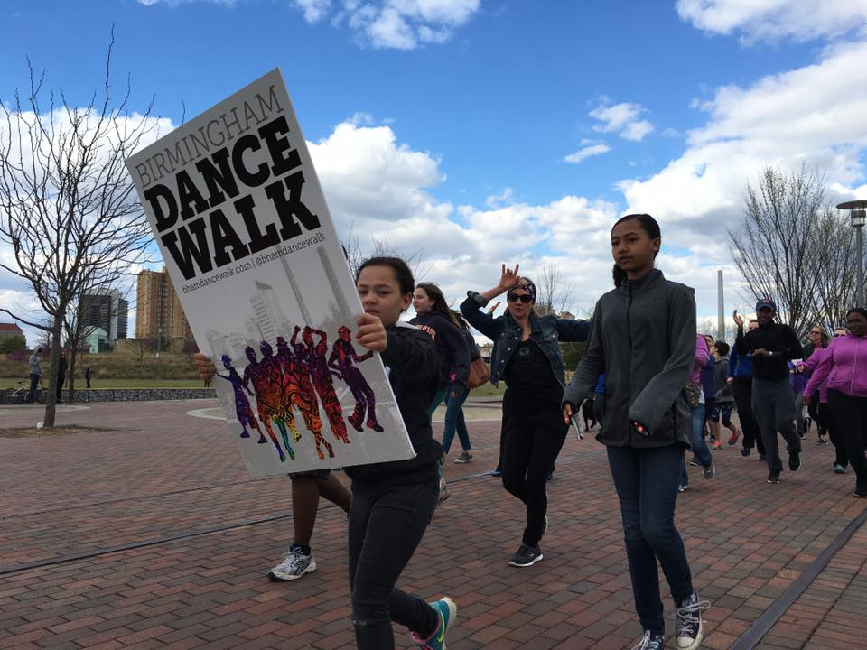 Bham Dance Walk – Railroad Park