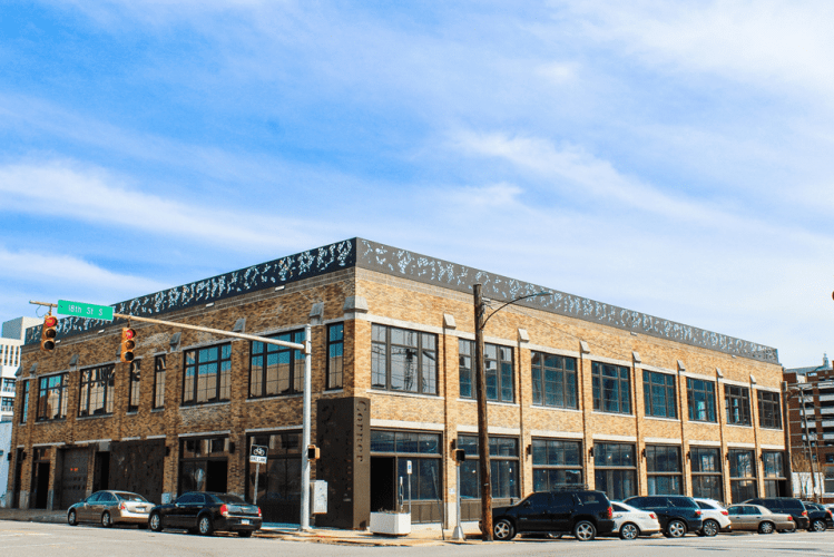 These custom lofts in Parkside's Printers Corner are perfectly situated on the corner of 2nd Ave and 18th Street South. (Photo courtesy Orchestra Partners)